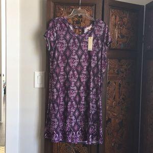 NWT Purple Ladies dress XL